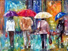 Debra Hurd Big red umbrella