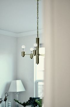 Let There Be Light: Installing a Vintage Light Fixture | The Design Confidential