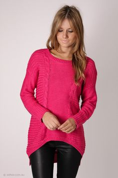 fortitude pink knit