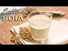 Latte di soia fatto in casa, buono da bere!! (spiegato passo, passo)