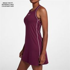 Athletic Clothes -- Shop NIKE Women's Tennis Apparel, now at Midwest Sports. Browse the collection of shirts, skirts, dresses, jackets & more! Tennis Outfits, Tennis Dress, Tennis Clothes, Athletic Outfits, Athletic Wear, Athletic Tank Tops, Court Dresses, Fashion 2020, Nike Women