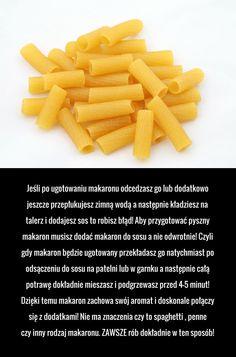 Ponad 90% ludzi popełnia ten błąd gotując makaron!