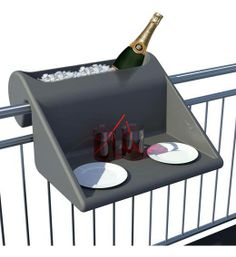 Balcony space saver Drinking table