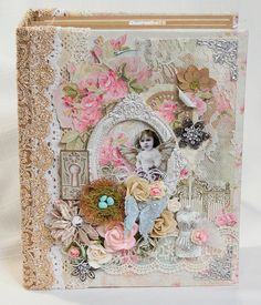 Craft & You Wedding Garden Mini Album Reneabouquets DT project