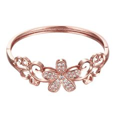 1:real rose gold plated