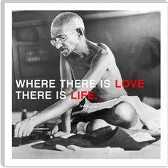 Gandhi Quote Art Print  #love #life #canvas $36.99