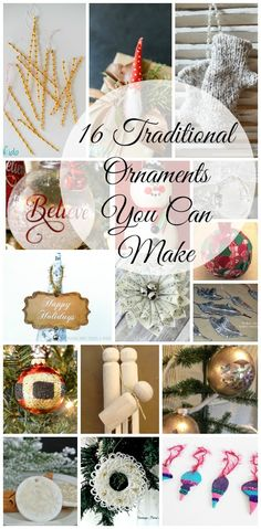 16 Traditional Ornament DIY Ideas