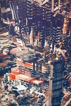 Atelier Olschinsky; City Walls e Pixel City