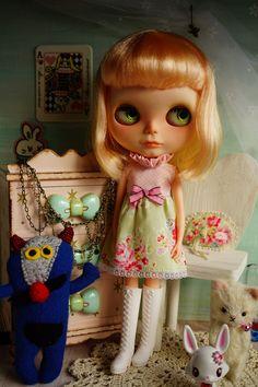 Custom Blythe Doll  Angelique  New Version by minnalove on Etsy, $580.00