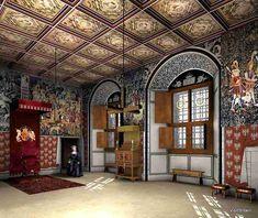 Stirling Castle Interior Stirling castle (interior)