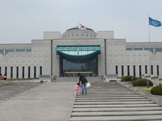 The war museum in the city Seoul.