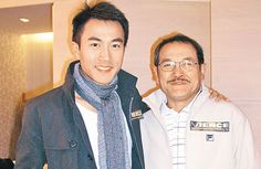 Finding success in China, Hawick Lau splurged $59.8 million HKD on a new house to live with his father, Lau Dan.