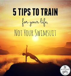 How to train for your life, not your swimsuit! | Fit Bottomed Girls