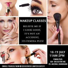 Professional makeup classes near me