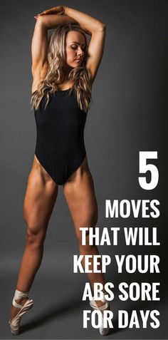 5 MOVES THAT WILL KEEP YOUR ABS SORE FOR