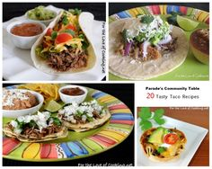 Parade's Community Table ~ 20 Tasty Taco Recipes To Spice Up Your Taco Night