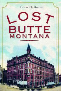 Lost Butte, Montana by Richard Gibson - Headframe Spirits