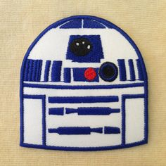 Athena Star Wars Droid X Uniform Embroidered Iron Sew-on Applique Patch -  of the week layout a6c899361793