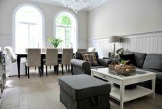 Moderna e clássica. esse tipo de decoração é eterna. http://houseofpictures.dk/feature_search/homes/compact/