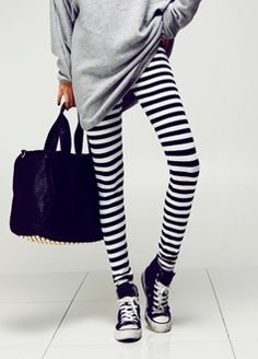 bd8adf4e6f97f black shoes for womens #cheap #Sneakers Striped Leggings Outfit, Cheap  Sneakers, Winter