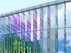 architectural dichroic glass reflections - Google Search