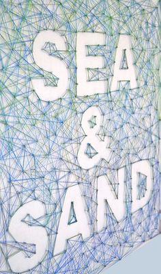 Beachy String Art – Creative in Chicago