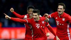 Bundesliga: Die schönsten Fotos vom Bundesligaspiel zwischen Hertha BSC und dem FC Bayern.