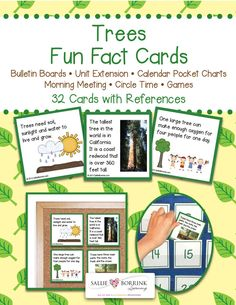 Trees Fun Facts Cards are a great way to learn more about trees. I discovered so many fascinating facts while researching these and I know you and your learners will enjoy them! See the Product Description below and the Product Gallery for more details about Trees Fun Facts...