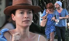 Game Of Thrones star Lena Headey shows off her quirky sense of style