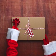 Gift Wrapping Hacks From Mrs. Claus