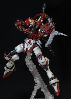 GF13-017NJII Burning Gundam - Custom Build   Modeled by Sumisu      CLICK HERE TO VIEW FULL POST...