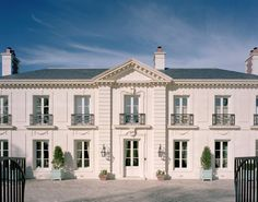 Curtis & Windham Architects, home based on La Lanterne at Versailles - Houston, TX