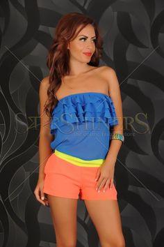 Salopeta Fofy Summer Colours Orange