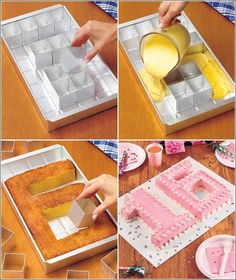 Alphabet and Number Cake Pan!