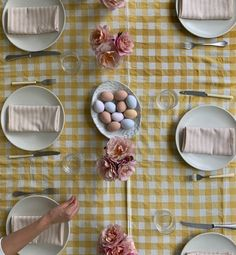 Heather Taylor, Brunch Table, Easter Brunch, Spring Time, Countryside, Flower Arrangements, Table Settings, Tables, Plates