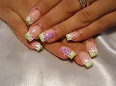 summer nails by dijana - Nail Art Gallery nailartgallery.nailsmag.com by Nails Magazine www.nailsmag.com #nailart