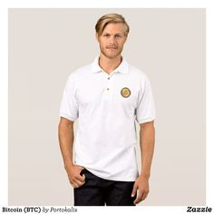 Bitcoin (BTC) Polo Shirt - Cool And Comfortable Golfer Polo Shirts By Talented Fashion & Graphic Designers - #polo #gold #golfing #mensfashion #apparel #shopping #bargain #sale #outfit #stylish #cool #graphicdesign #trendy #fashion #design #fashiondesign #designer #fashiondesigner #style