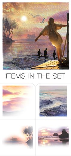 """Summertime Longing"" by ni-ke ❤ liked on Polyvore featuring art"