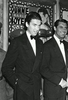 Jame Jimmy Stewart | Jimmy Stewart and Cary Grant | James (Jimmy) Stewart