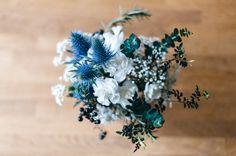 Blue / wedding / bleu / Madame artisan fleuriste