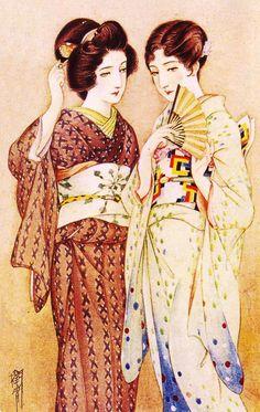 Takabatake Kashou Summer Clothes 1929