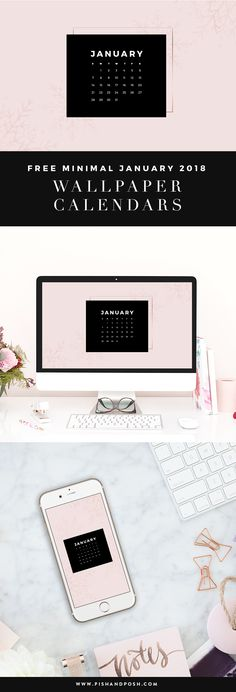 Happy New Year! We hope you had a fun and safe holiday season. Now it's back to business. This month we have a (kinda) minimal styled wallpaper design for you to dress your tech with. We hope you enjoy? January 2018 Wallpaper Calendar 1280x800px ||Continue Reading >>