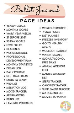 Bullet Journal Page Ideas to keep you inspired Bullet Journal Contents, Bullet Journal Mood Tracker Ideas, Bullet Journal Paper, Bullet Journal Lists, Bullet Journal For Beginners, Creating A Bullet Journal, Self Care Bullet Journal, Bullet Journal Lettering Ideas, Bullet Journal Notebook
