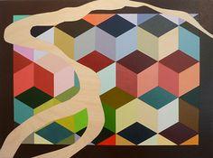 "Danube River II by Janice Colbert  ~ 12"" x 16"""