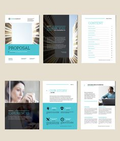 Business Proposal Layout - image | Adobe Stock