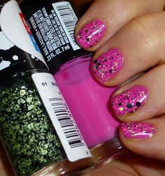 Maybelline Color Show, Pinkalicious, Boom Box, NOTD pink nails