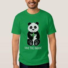 (Save the Pandas! T-shirt) #Animals #Bamboo #Bear #Black #Endangered #Panda #PandaS #Penguincornerstore #Protect #White is available on Funny T-shirts Clothing Store   http://ift.tt/2cxjfOe