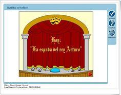 """""""¡Arriba el telón!"""" (Aplicación interactiva sobre Teatro)"""