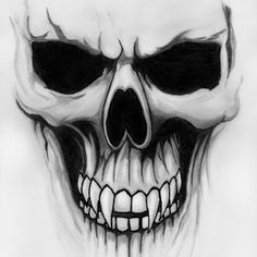 Skull Graffiti Drawing Ideas The Effective Pictures We Offer You About tattoo drawings A quality Evil Skull Tattoo, Skull Tattoo Design, Skull Design, Skull Tattoos, Body Art Tattoos, Sleeve Tattoos, Skull Hand Tattoo, Neue Tattoos, Tattoo Crane