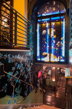 The ultimate wallpaper inspiration at China Tang at The Dorchester